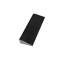 """Rubber 1/2"""" Reducer Transition Strip With Lip"""