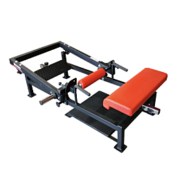 TRAINING CAMP PRO HIP THRUST BENCH WITH PLATE LOAD
